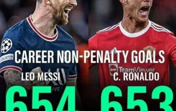 Comparaison des buts de données sans pénalité Meruo: Messi mène Cristiano Ronaldo par 1 but